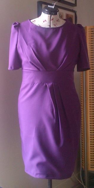 purpule-dress