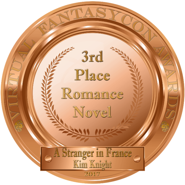 Best Romance Award For The Novel A Stranger in France