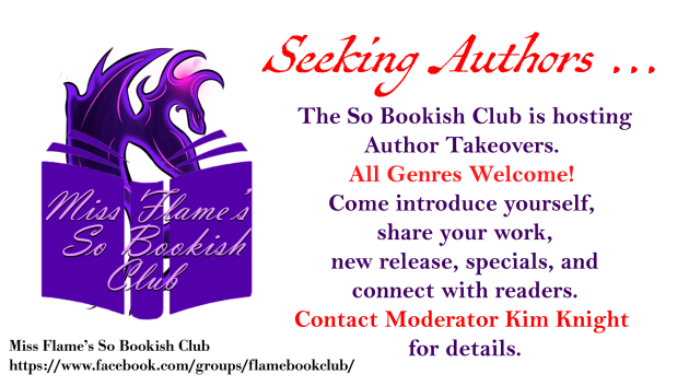 Author TakeOver Book Club